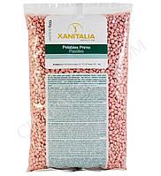 Пленочный воск в гранулах Xanitalia Роза (1кг)