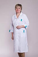 Медицинский халат 1103 (габардин)