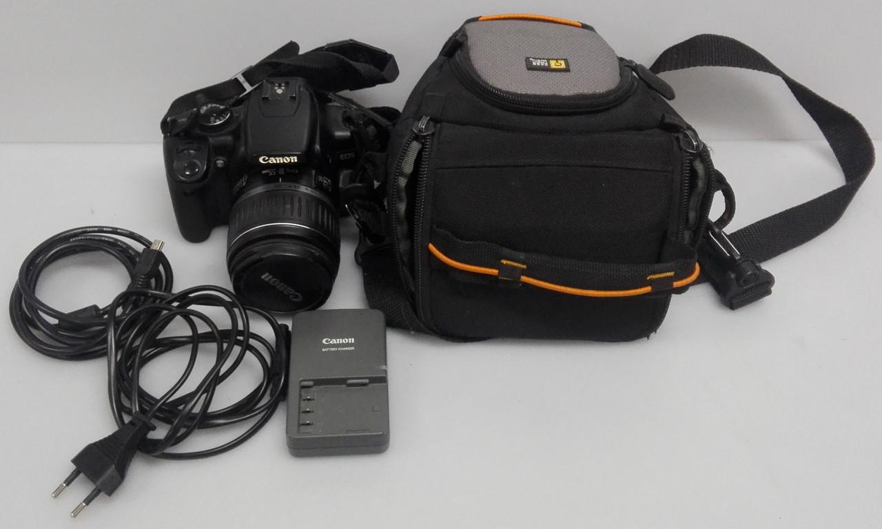 Зеркальный фотоаппарат Canon Eos 400D kit 18-55mm