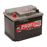 """Аккумулятор SADA 6СТ-60 (12В 60АЧ 600А ) АзЕ Profi HD, 0 """"+"""" справа"""