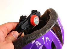 Шлем с регулировкой размера. Фиолетовый цвет., фото 2