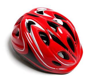 Шлем с регулировкой размера. Красный цвет., фото 2