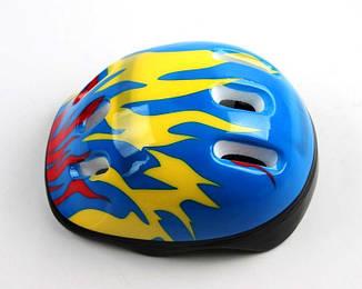 Шлем Blue. Fire., фото 2