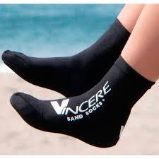 Носки для пляжного волейбола Vincere SOCKS BLACK SAND