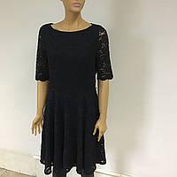 Брендове мереживне плаття  Сharter Club темно-синього кольору