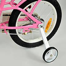 """Велосипед детский RoyalBaby LITTLE SWAN 16"""", OFFICIAL UA, розовый, фото 3"""