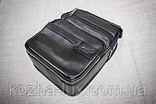 Мужская сумка из натуральной кожи модель B-3092, Италия , фото 3