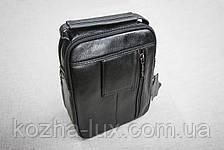 Мужская сумка из натуральной кожи модель B-3092, Италия , фото 2