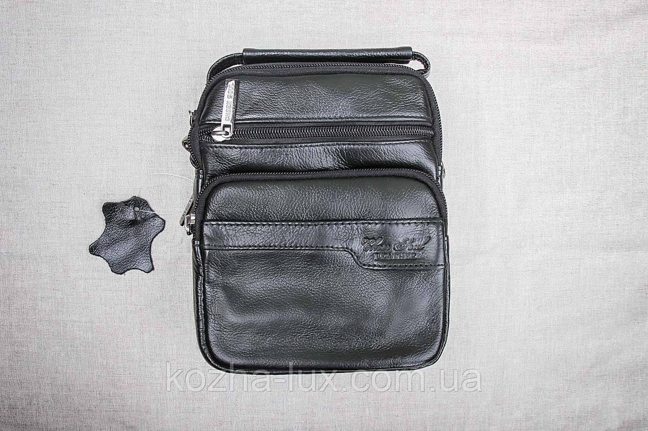Мужская сумка из натуральной кожи модель B-3092, Италия