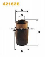 Фильтр воздушный 42162E/AK435 (производство WIX-Filtron) (арт. 42162E), ADHZX