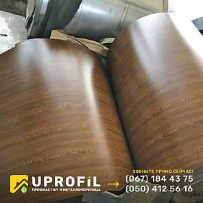 Двухсторонний профнастил фотопринт дерево Золотой Дуб 0.40 мм., фото 2