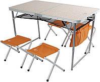 Туристический Набор  стол, 4 стула