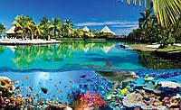 Фотообои - Подводный мир Мальдив, 368х254 см 4 листа