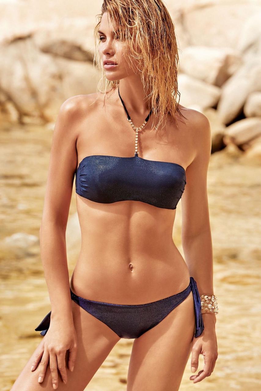 a9b3230ad2985 Роздільний жіночий купальник бюстгальтер бандо push-up Amarea 19042 ...