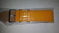 Ремешок для часов Perfect 24мм желтый