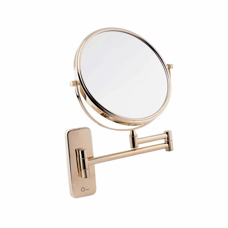 Дзеркало косметичне в золоті