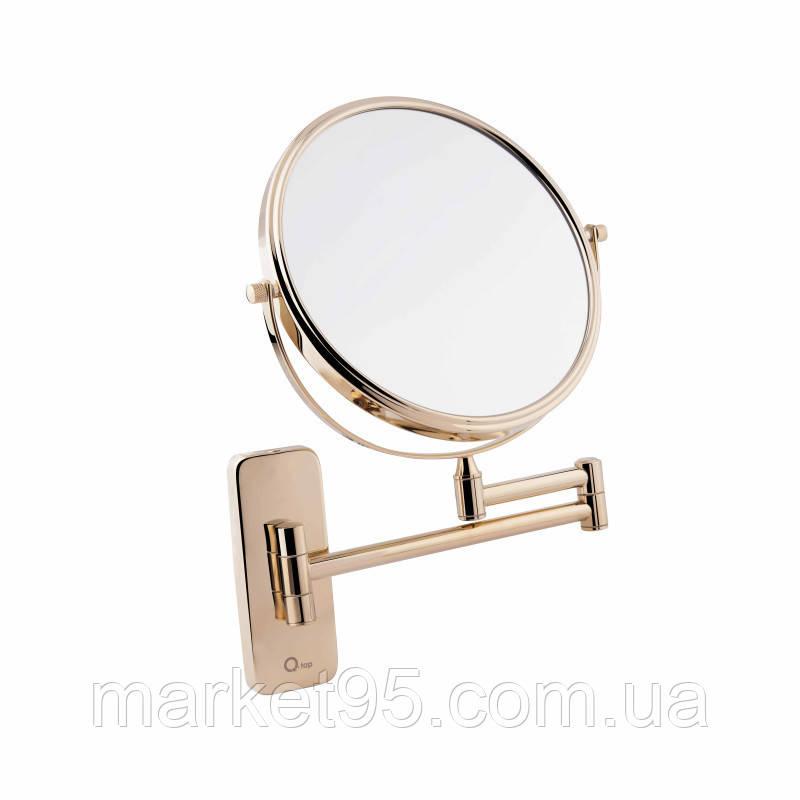 Зеркало косметическое в золоте
