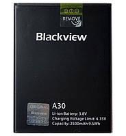 Аккумулятор Blackview A30 (2500mAh). Батарея Blackview A30. Original АКБ (новая)