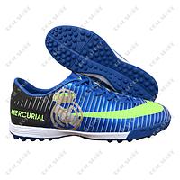 Футбольные бампы (сороконожки) Nike Mercurial CR7 Real Blue