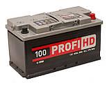 """Аккумулятор SADA 6СТ-100 (12В 100АЧ 850А ) АзЕ Profi HD, 0 """"+"""" справа, фото 3"""