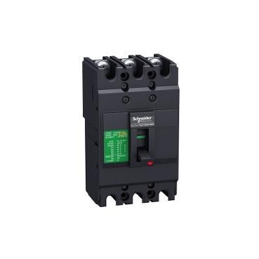 Автоматичний вимикач EASYPACT EZC100N 3P 15кА 80А EZC100N3080