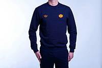 Мужской спортивный костюм Adidas-MU, Манчестер Юнайтед, Адидас, синий