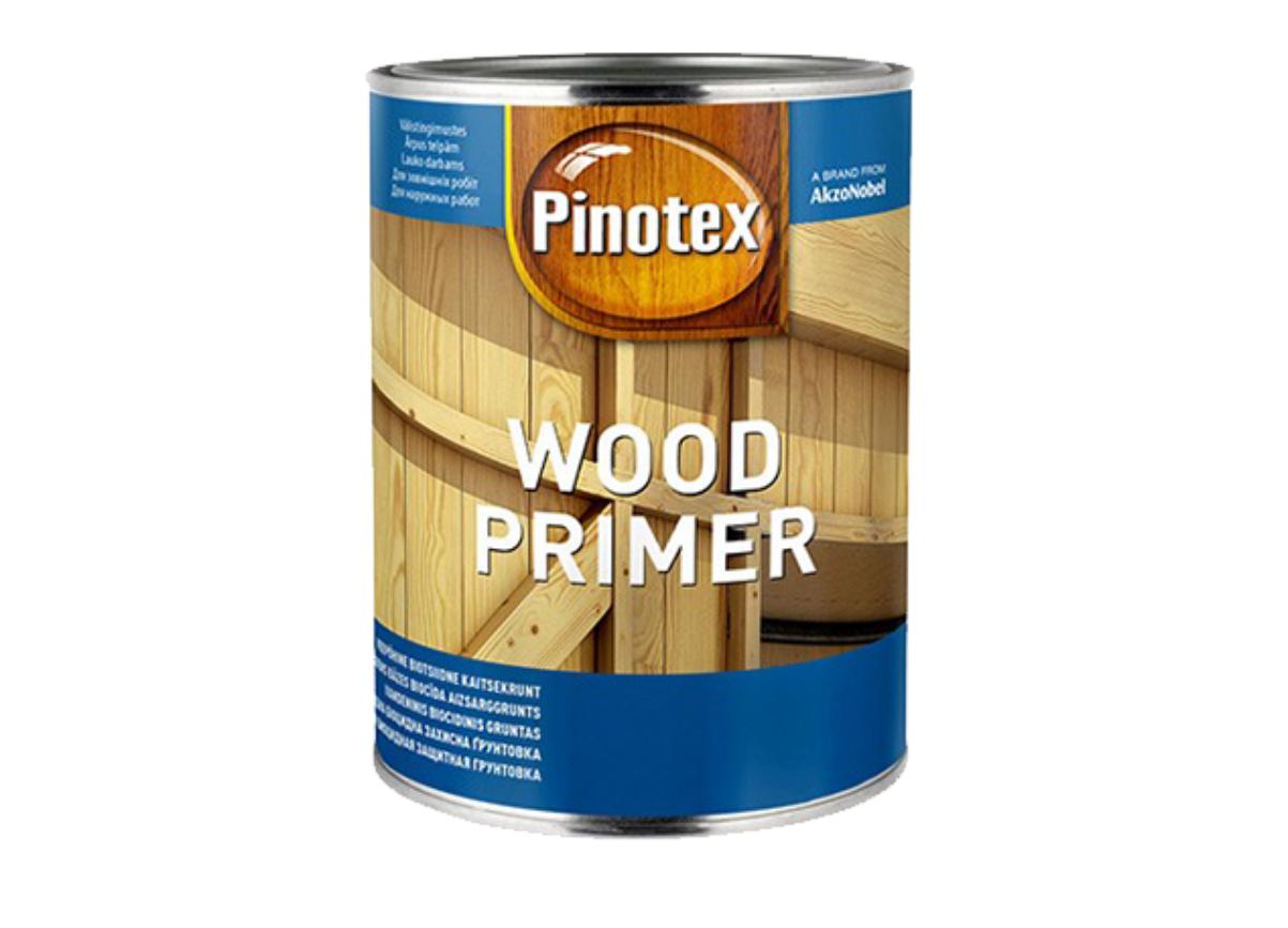 Декоративная водорастворимая грунтовка Pinotex Wood Primer 1л