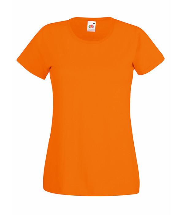 Женская футболка  ValueWeight M, Оранжевый