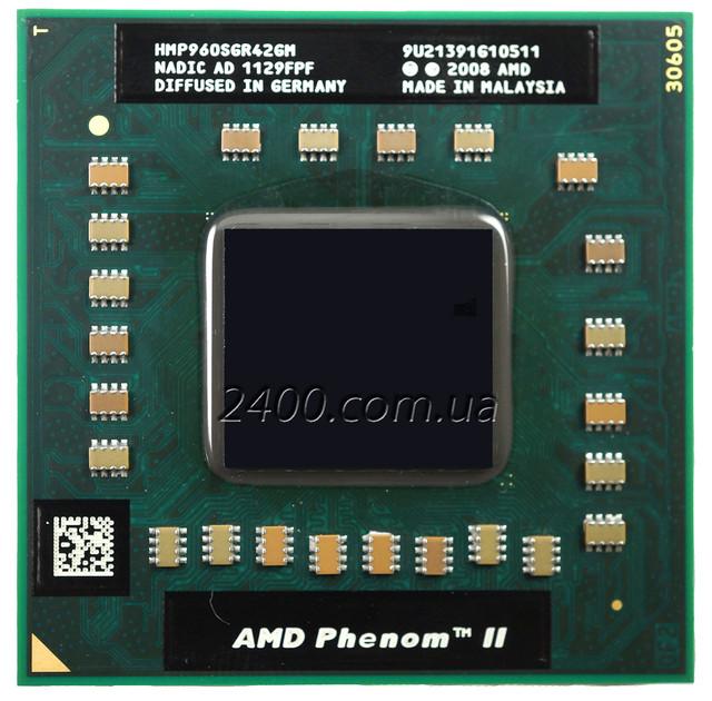 Процессор AMD Phenom II X4 P 960 для ноутбука
