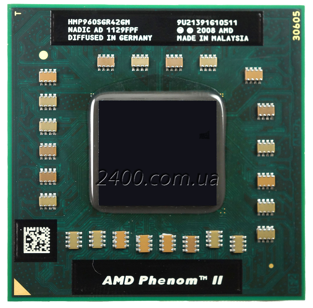 Процессор AMD Phenom II X4 P960 1.8 GHz Socket S1 (S1g4) для ноутбука