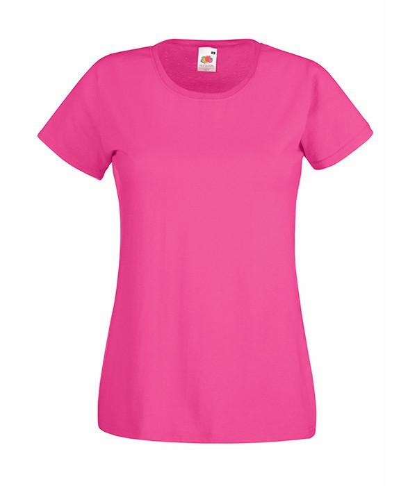 Женская футболка  ValueWeight L, Малиновый