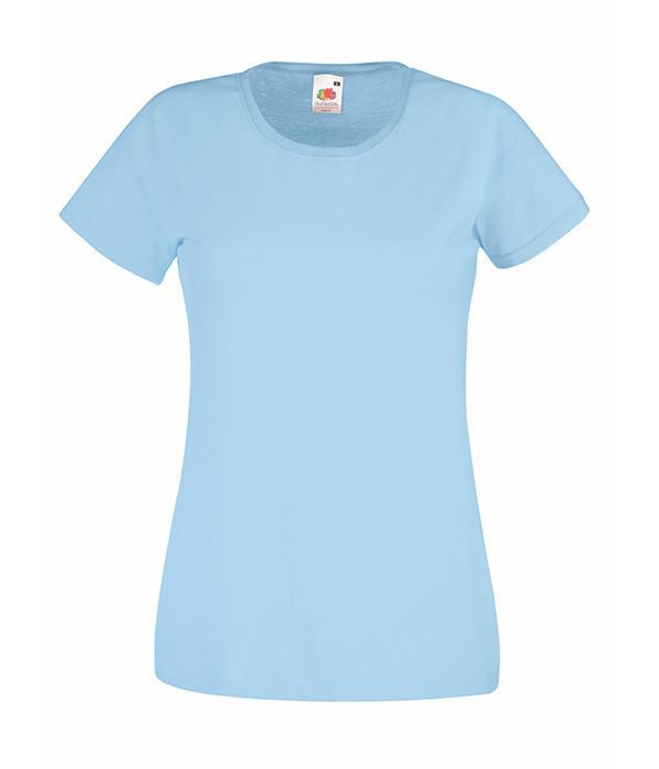 Женская футболка  ValueWeight XL, Небесно-Голубой