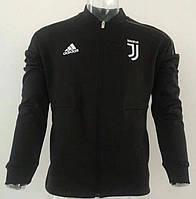 Мужская спортивная олимпийка (кофта) Адидас, Ювентус, Juventus, черная XL