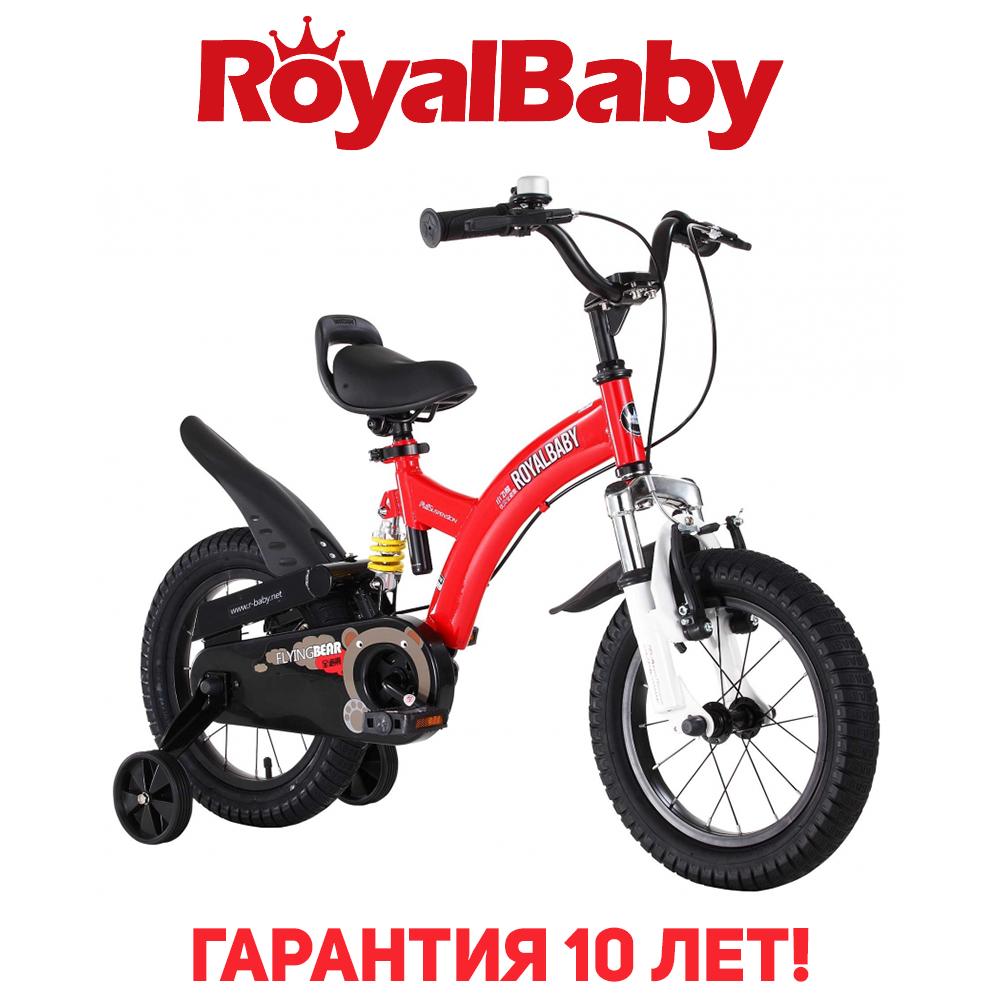 """Велосипед детский RoyalBaby FLYBEAR 12"""", OFFICIAL UA, красный"""