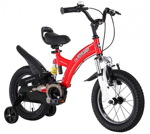 """Велосипед детский RoyalBaby FLYBEAR 18"""", OFFICIAL UA, красный, фото 2"""