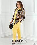 Модный женский брючный костюм 48-62рр.( 5 цветов), фото 7