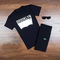 Мужская футболка Levis Brooklyn повседневная хлопковая черная, ТОП-реплика