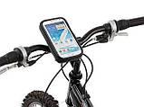 """Власник смартфона 4"""" на кермо велосипеда велохолдер з вологозахистом SKU0000165, фото 7"""