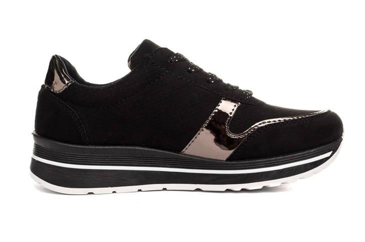 Жіночі кросівки NM 40 Black, фото 3