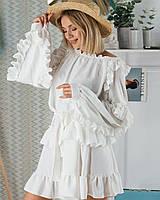 Стильное платье с рюшами, фото 1