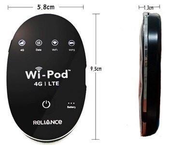 WiFi роутер 4G модем ZTE WD670 для Киевстар, Vodafone, Lifecell