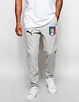 Мужские футбольные штаны Сборной Италии, Italy, серые