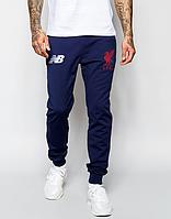 Мужские футбольные штаны Ливерпуль, Liverpool, синие