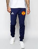 Мужские футбольные штаны Манчестер Юнайтед, Manchester United, синие
