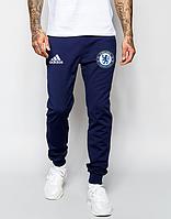 Мужские футбольные штаны Челси, Chelsea, синие