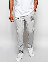 Мужские футбольные штаны Ювентус, Juventus, серые
