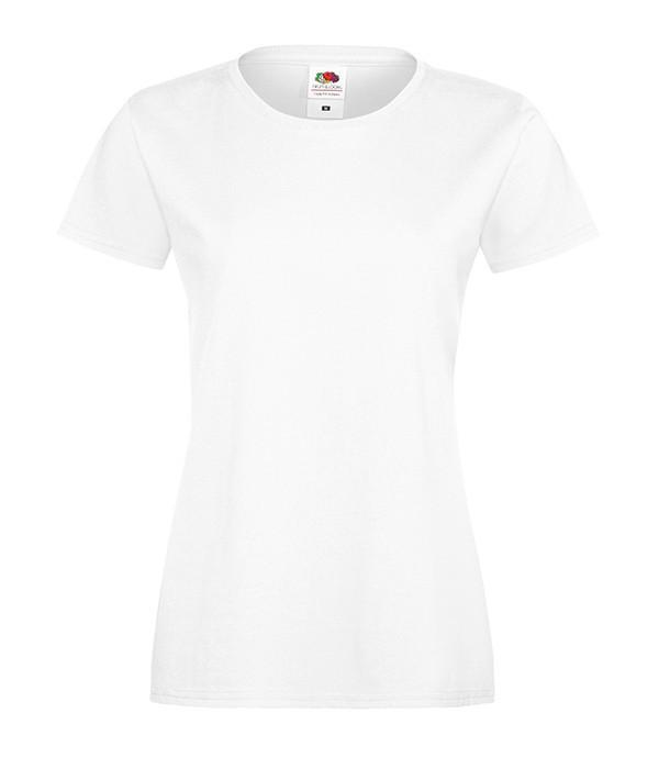 """Женская футболка """"Хлопок"""" L, Белый"""