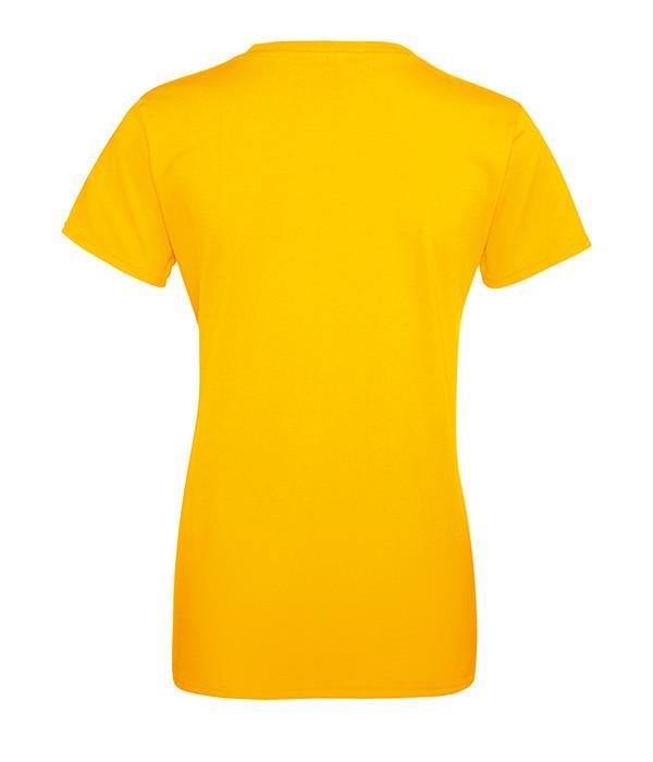 """Женская футболка """"Хлопок"""" L, Солнечно Желтый"""