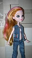 Одежда для кукол Монстер Хай, Эвер Хай. Джинсовая одежда ручной работы.