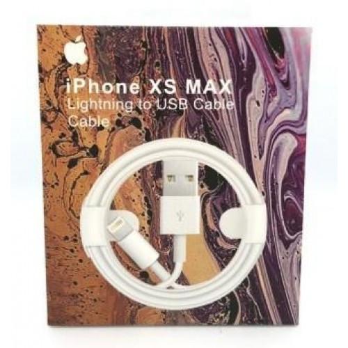 Кабель для iPhone Xs MAX (AAAA) Зарядка USB для iPhone 1м (Лучшая копия)